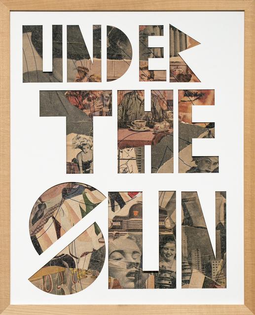 , 'Under The Sun,' 2019, Paradigm Gallery + Studio