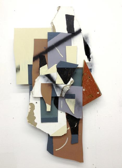 , 'Splitterrelief #4,' 2013, Gestalten