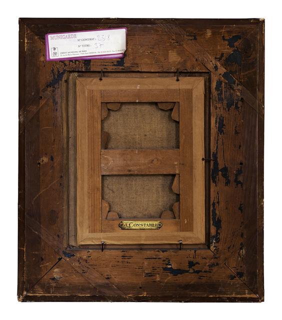 , 'Verso n°4, La route du village, par John Constable, collection particulière, Paris,' 2005, Modernism Inc.