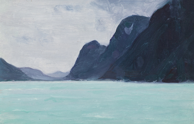 , 'La Riviere Vefsna - Helgeland, Norvege,' 1934, Oeno Gallery