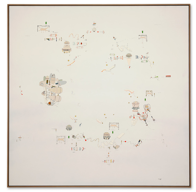 Gianfranco Baruchello, 'Astuzia della ragione', 1973, Galerie Michael Hasenclever
