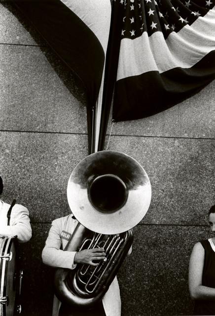 , 'Political Rally, Chicago,' 1956, Edwynn Houk Gallery