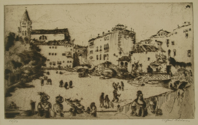 Clifford Isaac Addams, 'Edge of Venice', 1914, Private Collection, NY