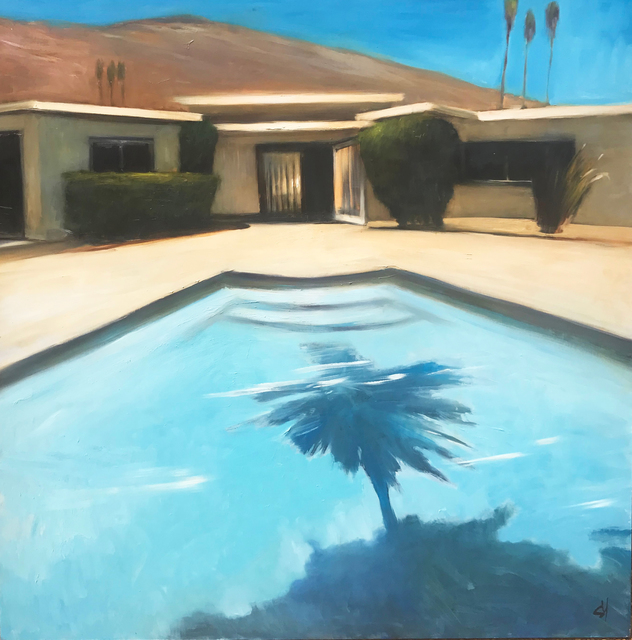 Scott Yeskel, 'Palm Pool', 2018, Patricia Rovzar Gallery
