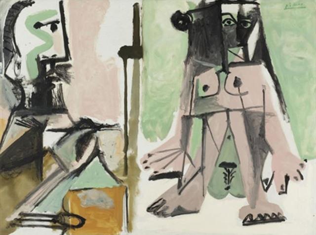 , 'Le peintre et son modèle,' 1964, Partners & Mucciaccia