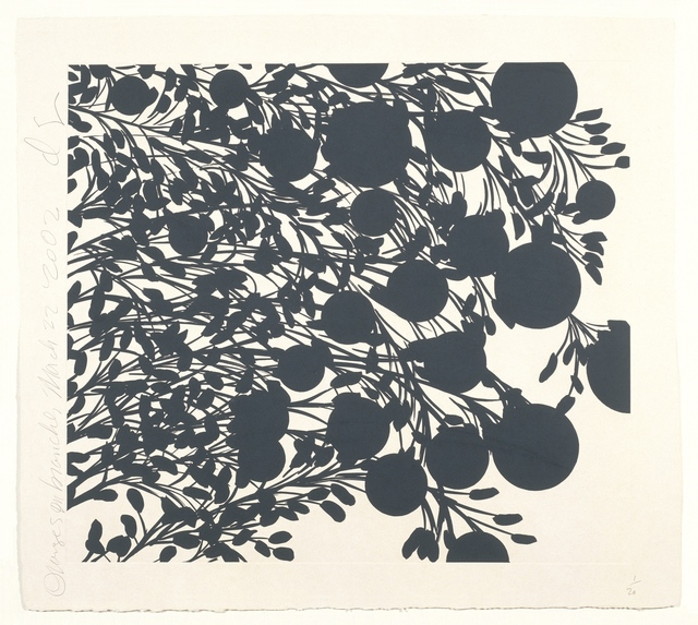 , 'Oranges on Branches, March 22 2002,' 2002, STPI