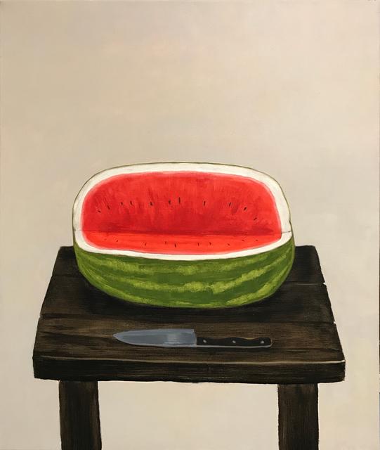 Mike Piggott, 'Watermelon with Knife', 2018, Tayloe Piggott Gallery