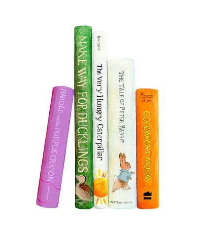 , 'A Baby's Bookshelf ,' , ArtStar