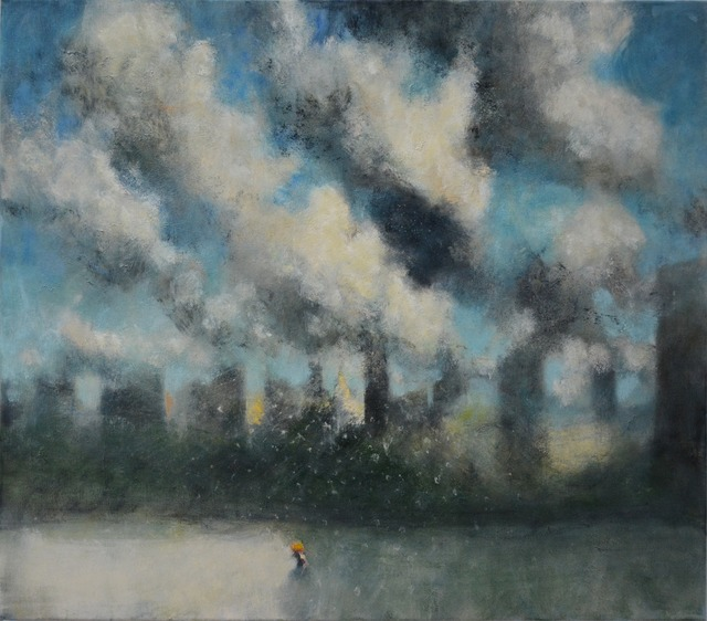 , 'Storm over the City II,' 2015, Marlborough London