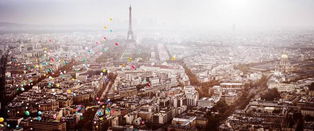 David Drebin, 'Balloons over Paris, France', 2016, Photography, Chromogenic Print, CHROMA GALLERY