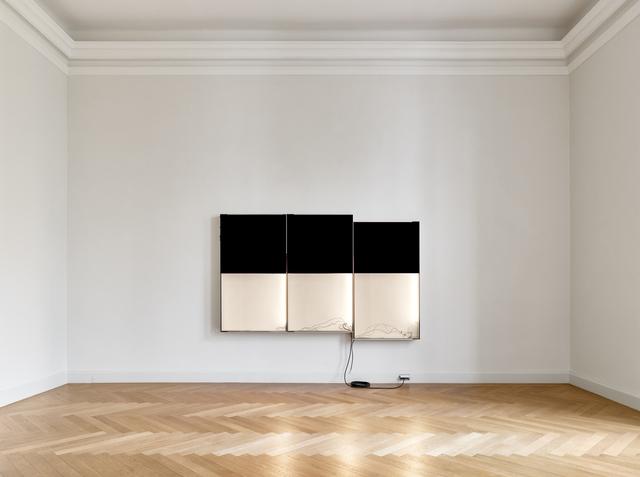 Pedro Cabrita Reis, 'Triple Black', 2018, KEWENIG