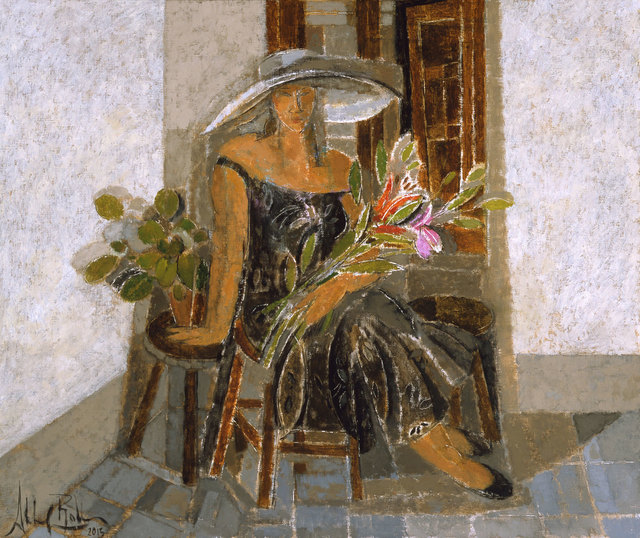 , 'Harmony in Gray,' 2015, Albemarle Gallery   Pontone Gallery