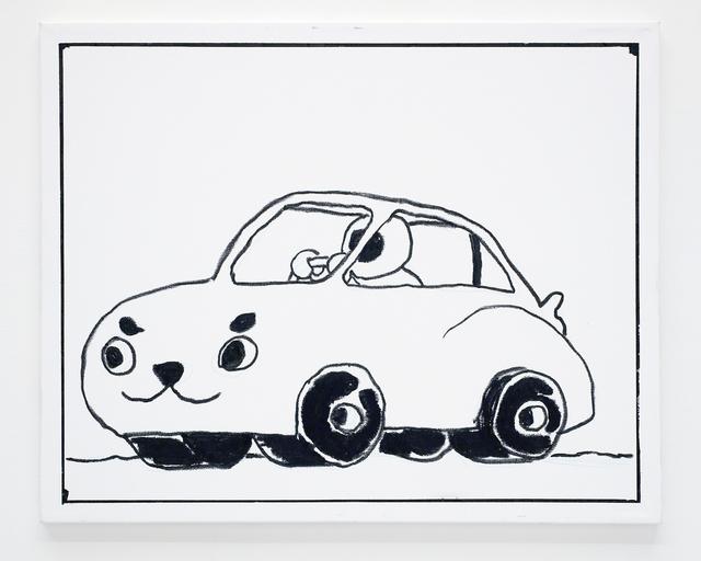 , 'Ben Jones Comics Panel #28 (Car),' 2016, The Hole