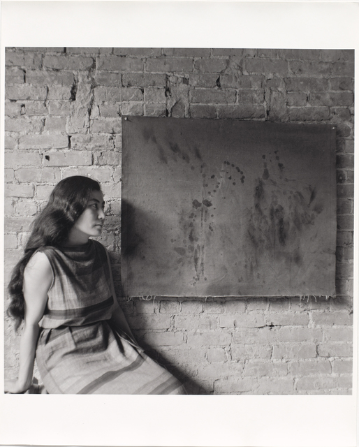 , 'Painting to See in the Dark (Version 1) (Installation view),' 1961, The Museum of Modern Art