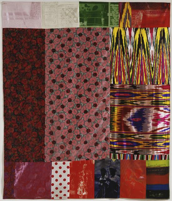 Robert Rauschenberg, 'Samarkand Stitches I', 1988, Galería La Caja Negra