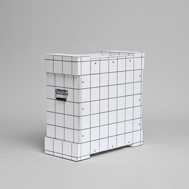 , 'White Mosaic Art Transport Crate,' 2015, Häusler Contemporary
