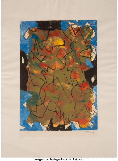 Mark Tobey, 'Glowing Fall', 1975, Heritage Auctions