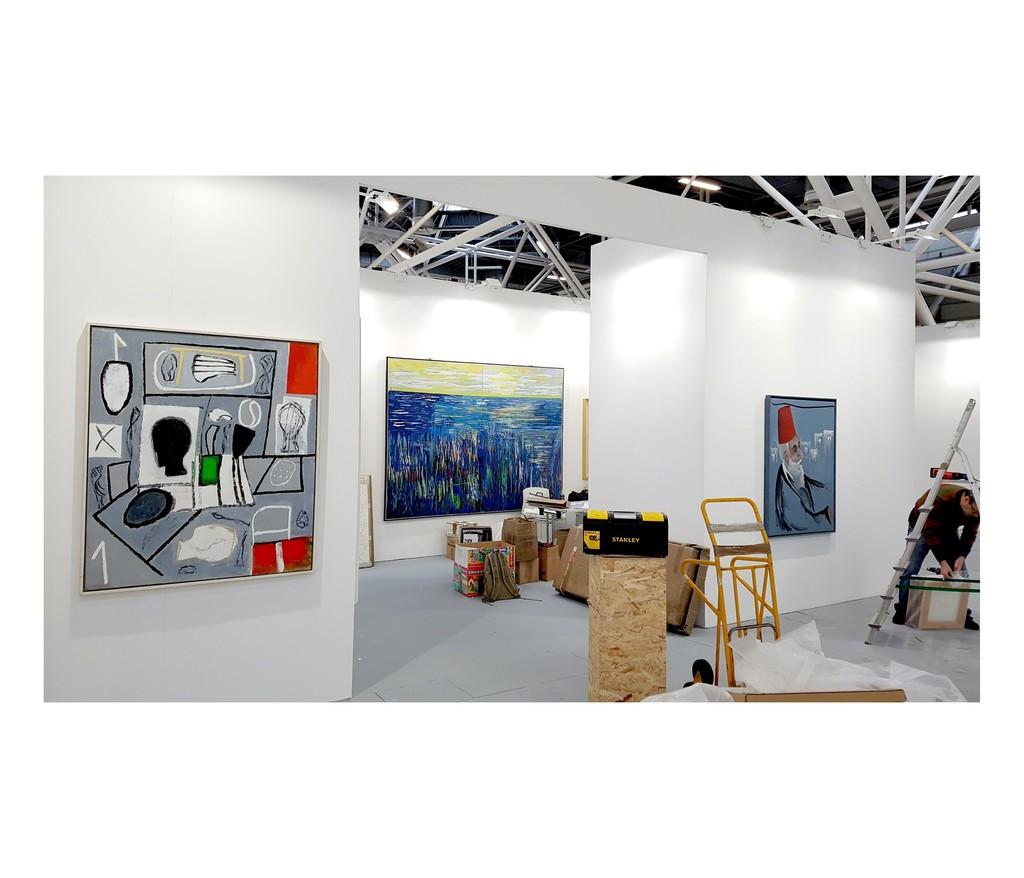 Work in progress at Artefiera Bologna 2019