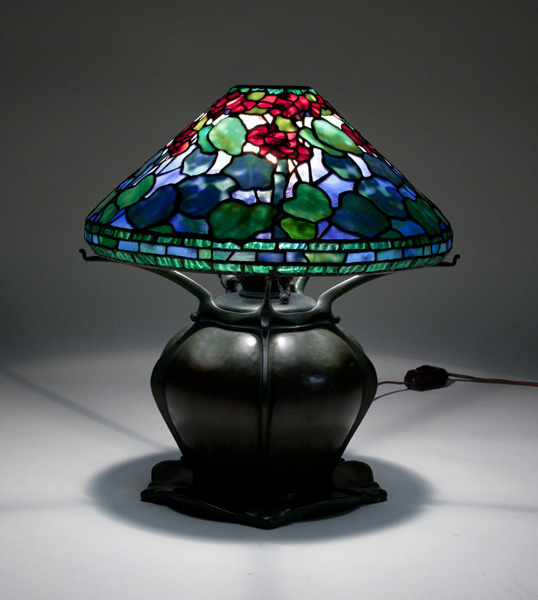 , 'Geranium Table Lamp,' ca. 1904, Lillian Nassau LLC