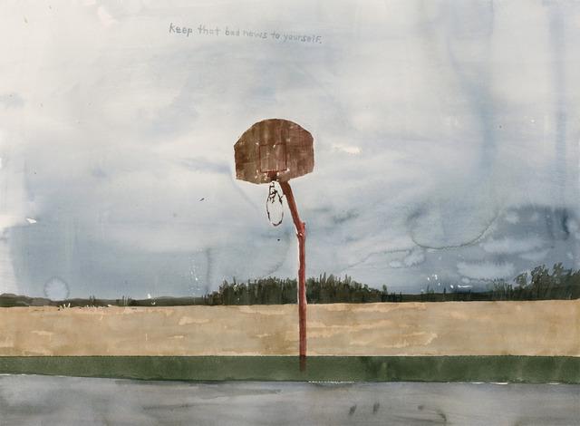 , 'Keep That Bad News To Yourself,' 2013, Morgan Lehman Gallery