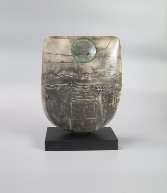 , 'Raku Bow with Disc,' 2017, Sladers Yard