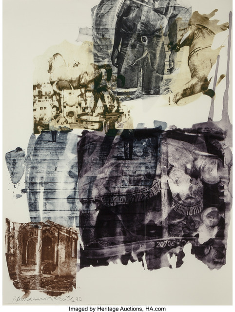 Robert Rauschenberg, 'Eagle Eye (Ruminations)', 1999, Heritage Auctions
