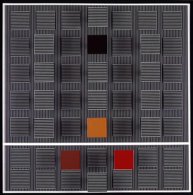 , 'Quatre carrés de couleurs,' 1993, Galeria Raquel Arnaud