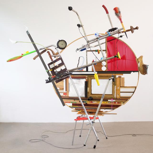 Jeroen Frateur, 'Chairwork - Alg. Schakelaar', 2016-2018, Installation, Mixed media, Aeroplastics