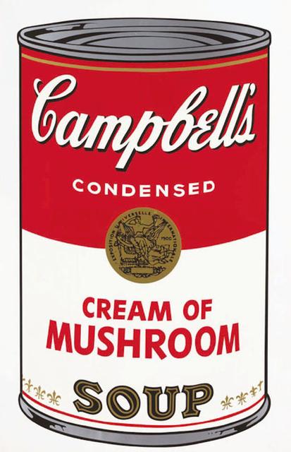 Andy Warhol, 'Campbell's Soup I: Cream of Mushroom (F&S.II.53)', 1968, Robin Rile Fine Art