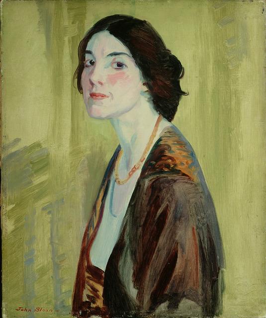 , 'Henrietta Mayer, White Skin,' 1913, Delaware Art Museum