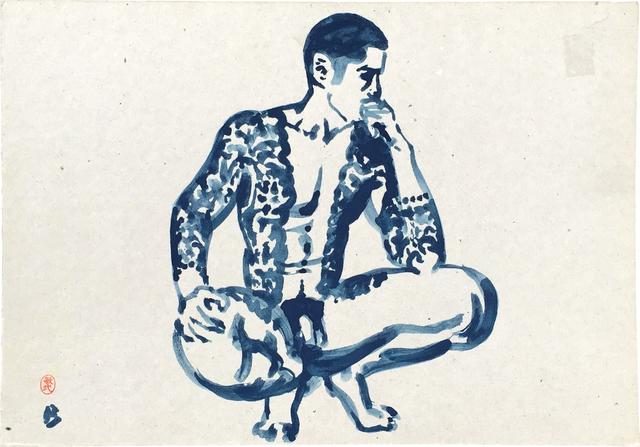 Paul Binnie, 'Pensive Yakuza', ca. Mid-1990s, Scholten Japanese Art