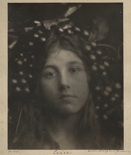 , 'Circe (Kate Keown),' 1865, Hans P Kraus Jr. Fine Photographs