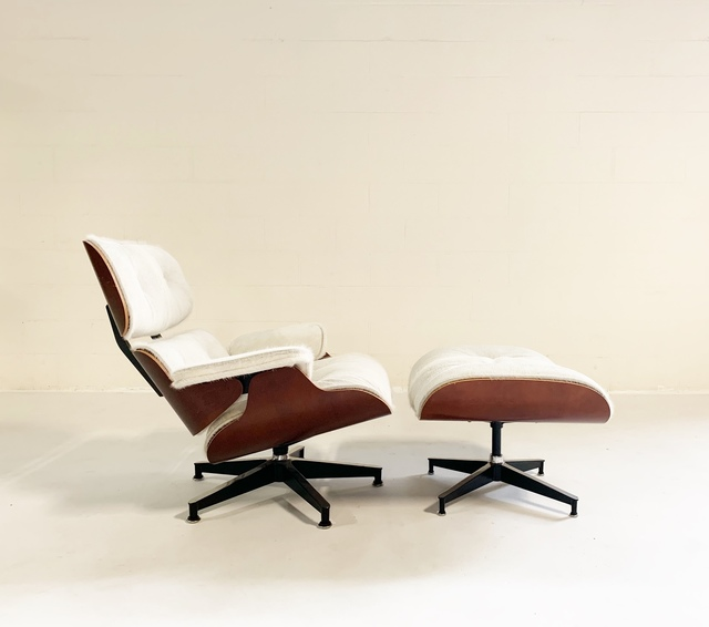 Incredible Charles And Ray Eames 670 Lounge Chair And 671 Ottoman In Brazilian Cowhide Mid 20Th Century Available For Sale Artsy Cjindustries Chair Design For Home Cjindustriesco