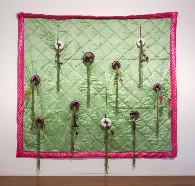 , 'Vertical Australian Garden Quilt,' 2015, Roslyn Oxley9 Gallery