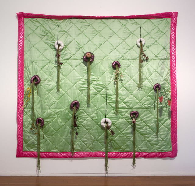 Sarah Contos, 'Vertical Australian Garden Quilt', 2015, Roslyn Oxley9 Gallery