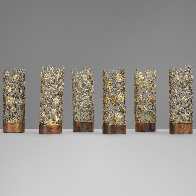 Stuart Devlin, 'Candle holders, set of six', 1967-1969, Wright