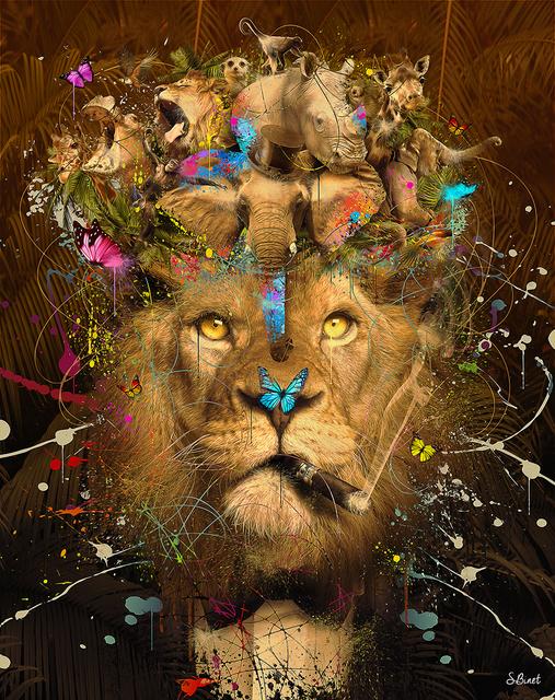 Sylvain Binet, 'Lion Afrique', 2019, Design by Jaler