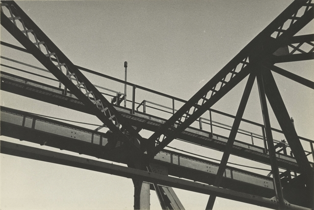, '[Girders with Walkway],' 1935-1940, J. Paul Getty Museum