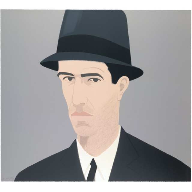, 'Alex Katz, Self-Portrait (Passing),' 1990, David Benrimon Fine Art