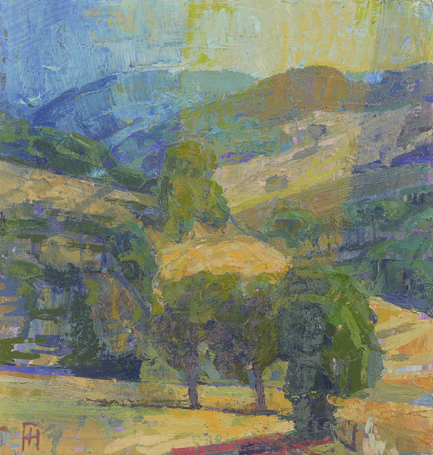 , 'Theatre in the Landscape, Italy, August,' 2017, John Martin Gallery