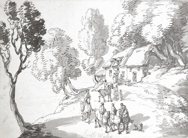 , 'South Wales,' 1797, Chris Beetles Gallery
