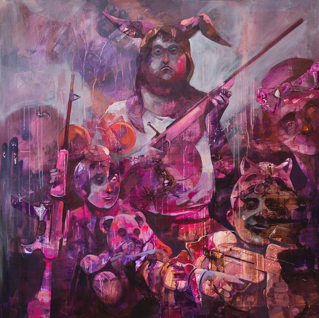, 'Sleeping through the war,' 2017, Galleria Varsi