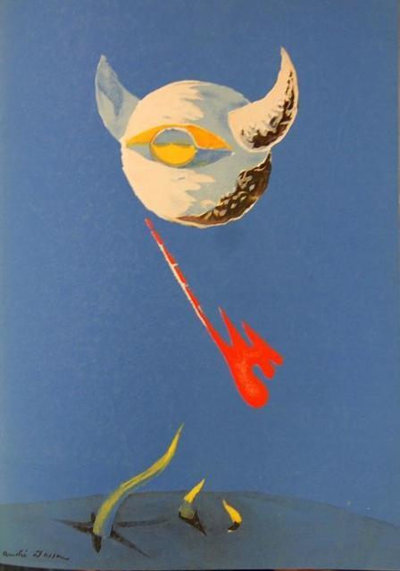André Masson, 'Lune', 1938, Baterbys