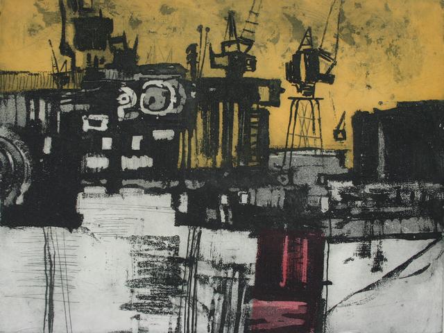 , 'East India Dock,' 1972, Gwen Hughes Modern British Art