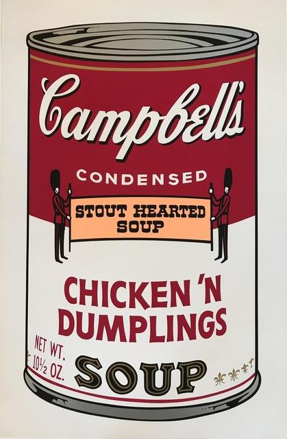 , 'Campbell's Soup Chicken 'n' Dumplings F&S II.58,' 1969, Fine Art Mia