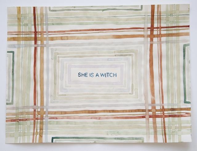 Julia Kuhl, 'Domestic Textiles Series, Witch', 2018, frosch&portmann