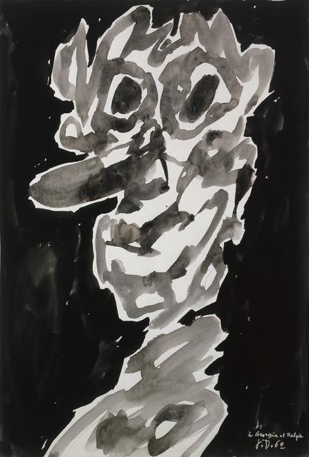 , 'Personnage,' 1962, Galerie Zlotowski