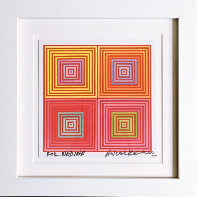 Richard Anuszkiewicz, 'Four on Four (Hand Signed)', 2013, Alpha 137 Gallery