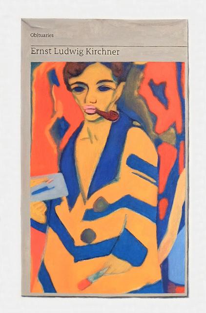 , 'Obituary: Ernst Ludwig Kirchner,' 2018, Charlie Smith London