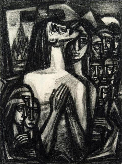 , 'Praying Woman,' 1940s, Addison Rowe Gallery